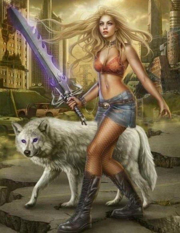 Image femme guerrière
